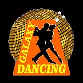 logo dancing galaxy