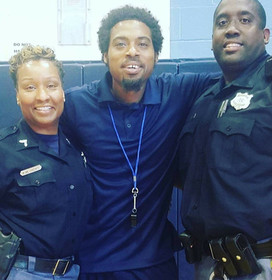 Officer Keith Boon and the Baltimore County police force supports Gooseneck Basketball. Every Summer, we run a cops in kids camp for 2 weeks at Leadership thru athletics gym. Thank you
