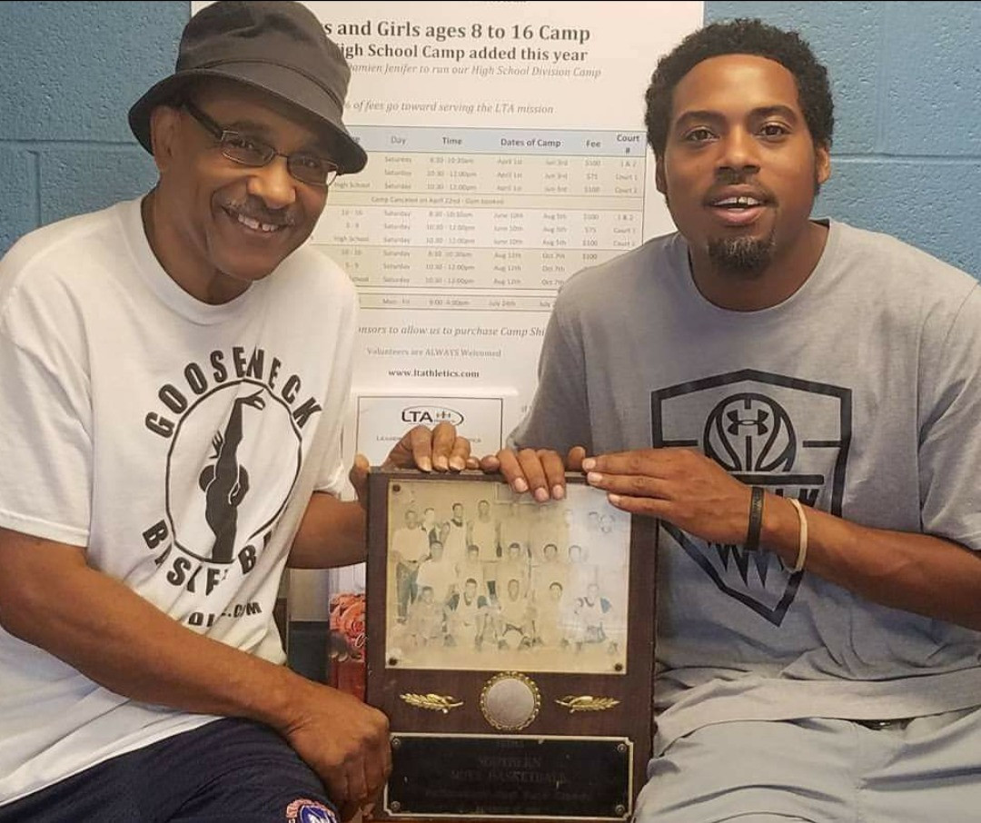 My Godfather/High School Coach/Mentor. The man that saved my life, The Legendary coach Meredith Smith. Retired with more wins than any Coach in Baltimore Basketball History.  Thank you for everything!