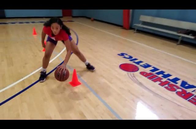 Annie Jackson Gooseneck Basketball Train