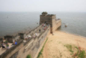 Great Wall Of China Laolongtou Hebei Province Must See