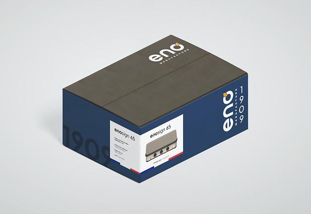 Eno creation packaging La Racine agence