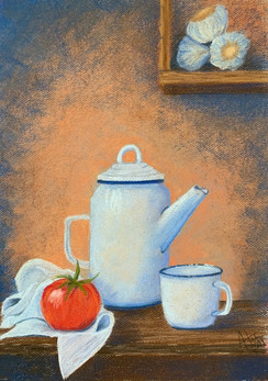 Coffee Kettle With Tomato