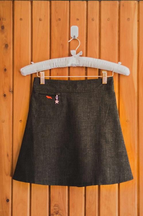 Girls soft A-line skirt