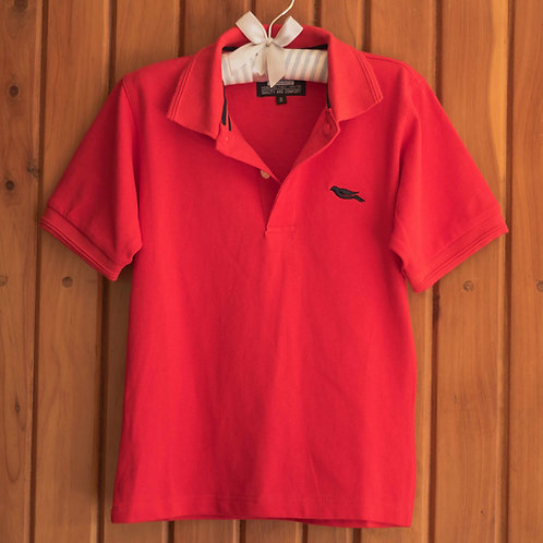 Unisex Red Polo Shirt