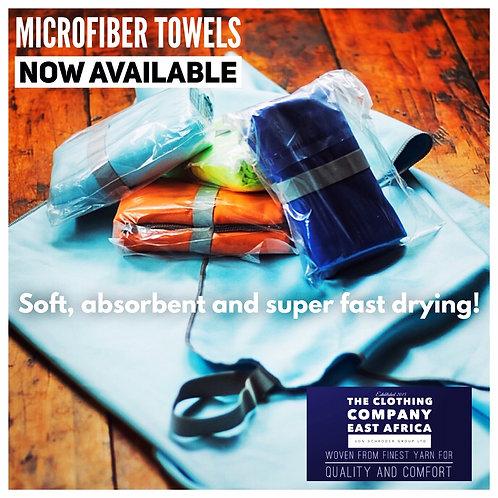 Microfibre super absorbent soft towel