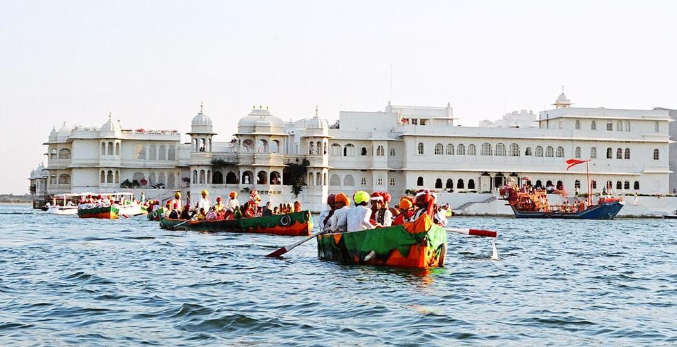Udaipur Lake Palace Boats