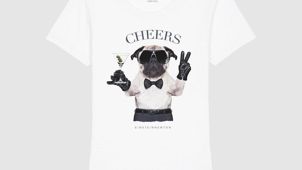 Einstein Newton Shirt Cheers Dog