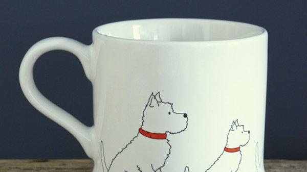 Sweet William Tasse Westhighland Terrier