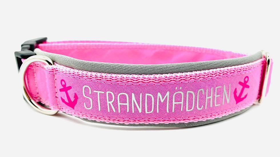 Hundehalsband 'Strandmädchen'