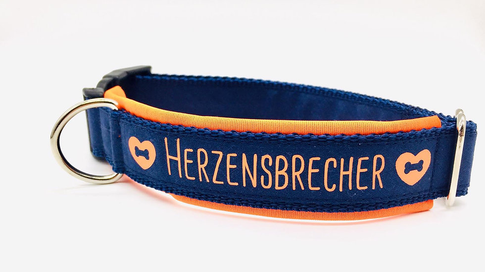 Hundehalsband 'Herzensbrecher'