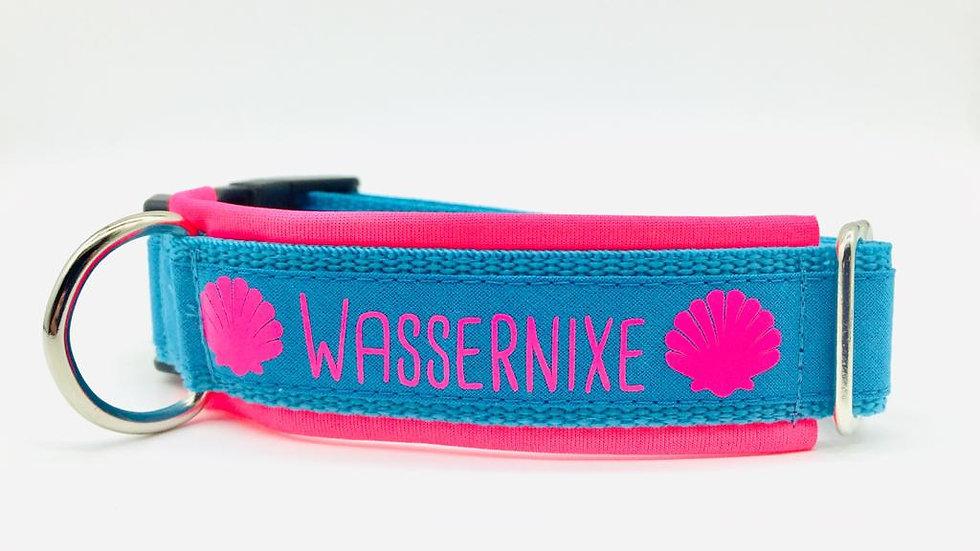 Hundehalsband 'Wassernixe'