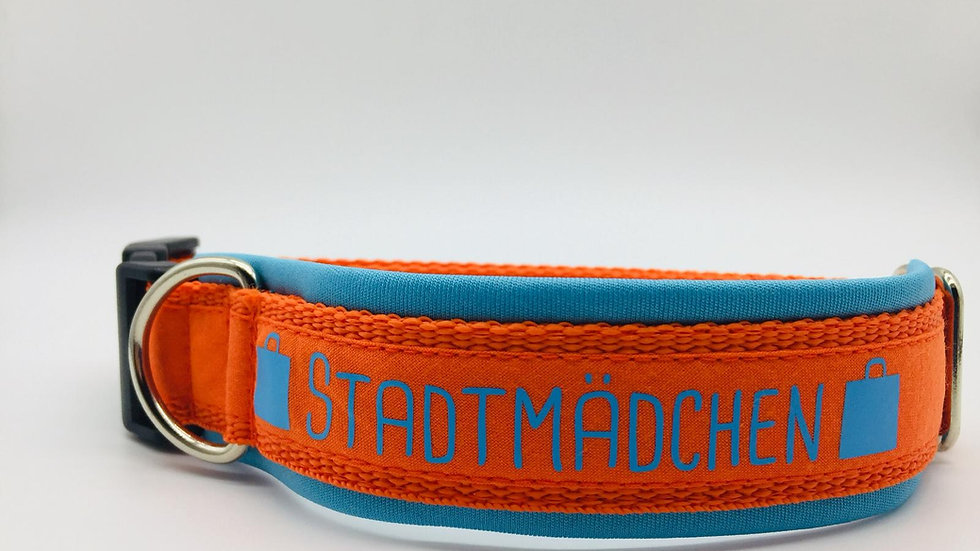 Hundehalsband 'Stadtmädchen'