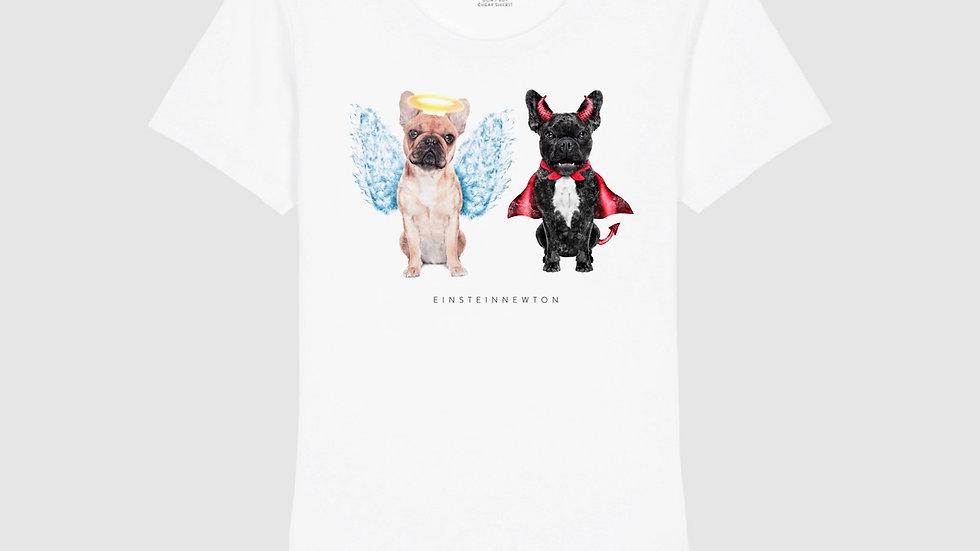 Einstein Newton Shirt Good Dog