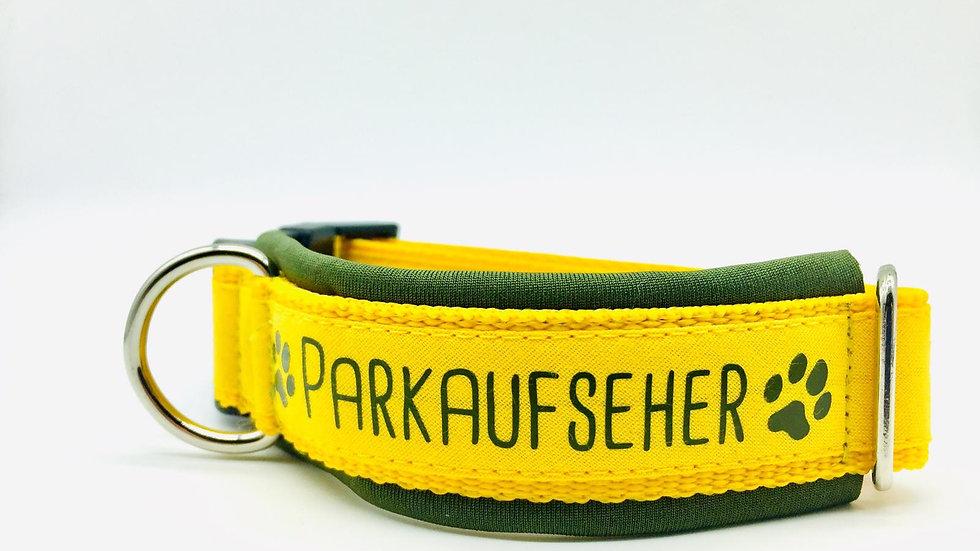 Hundehalsband 'Parkaufseher'