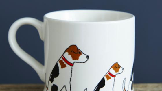 Sweet William Tasse Jack Russell Terrier