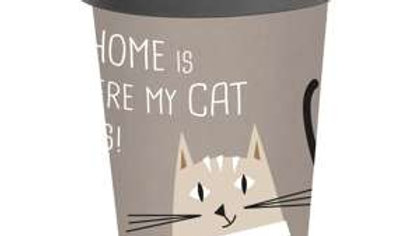 Travel Mug Bamboo Love and Cat