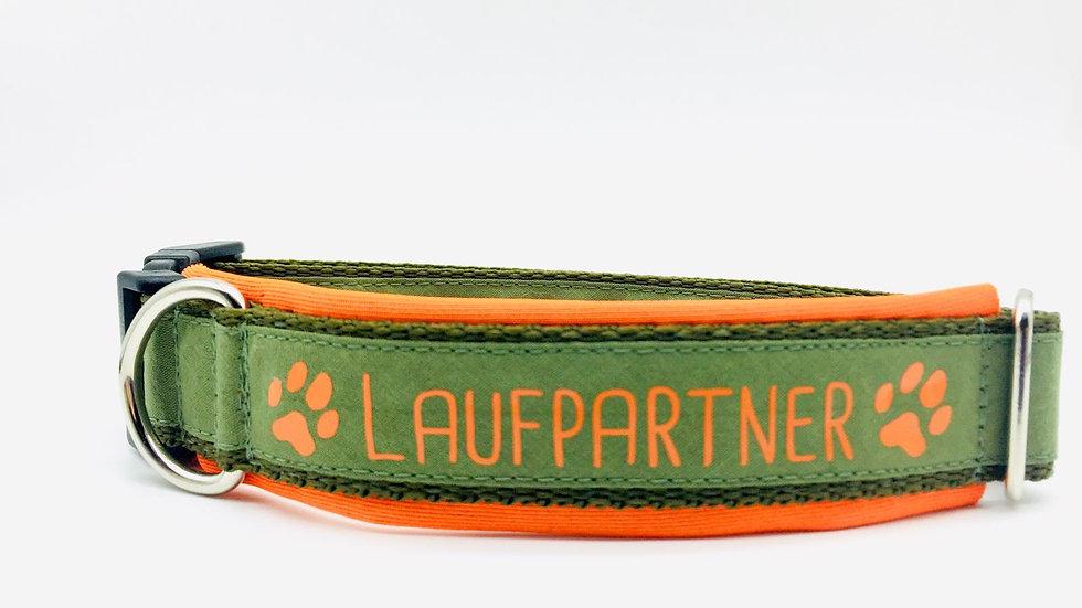 Hundehalsband 'Laufpartner'