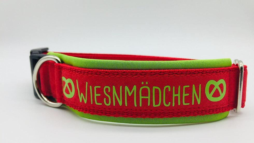 Hundehalsband 'Wiesnmädchen'