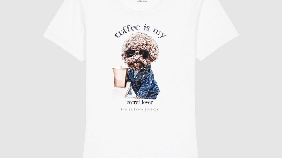 Einstein Newton Shirt Coffee Dog