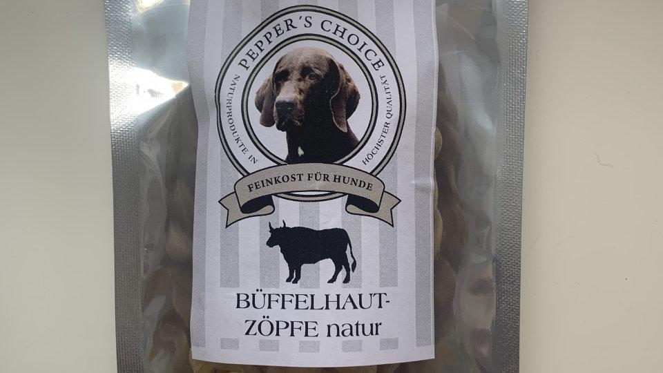 Pepper's choice Büffelhaut Zöpfe natur