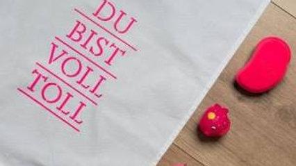 Geschirrtuch 'Du bist voll toll' 17;30 Hamburg