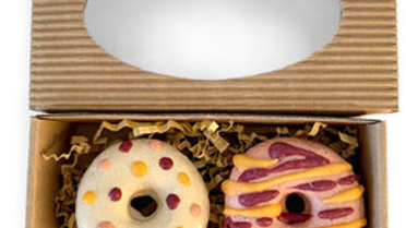 Hunde-Donuts 2er Box
