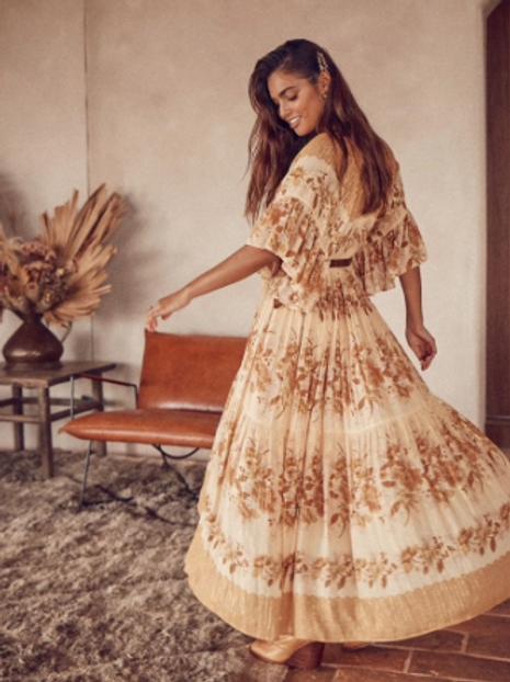 The Boho Queen Dress