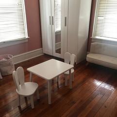 Bunny table and chair set