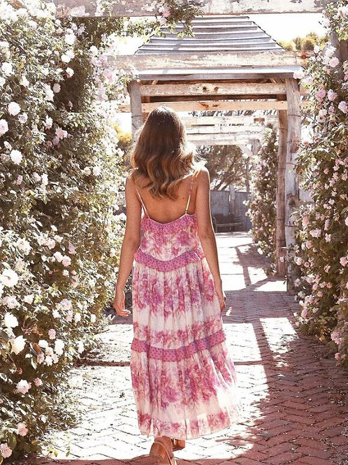 The Flower Garden Pink Dress