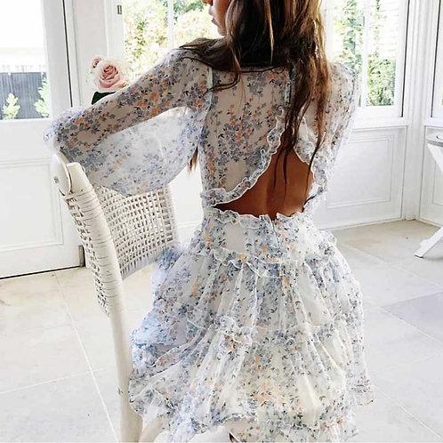 The Nammos Dress - White