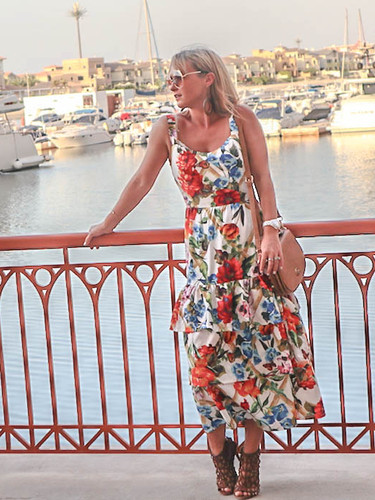 The Nina Dress - Floral Heaven