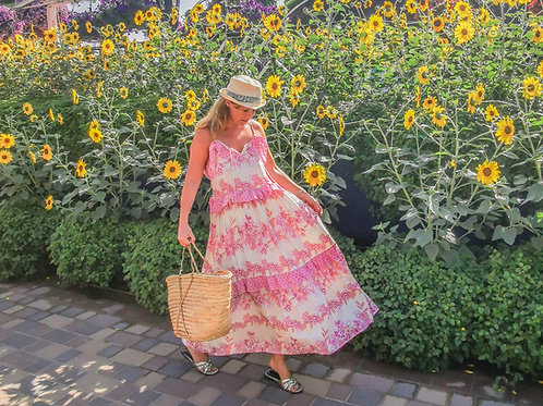 The Flower Garden Pink Dress