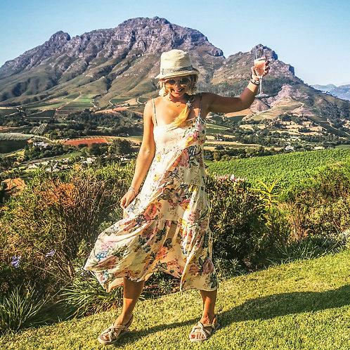 The Champagne Dress: Boho Festival Dress