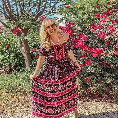 The Gypsy Dress - Black