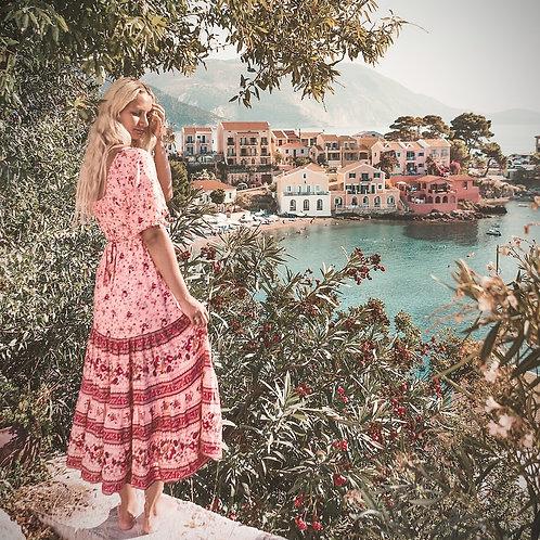 The Gypsy Dress - Pink