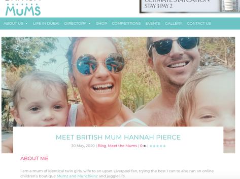 Meet the Mum - Hannah Pierce