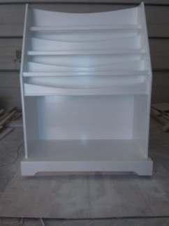 Large bookcase and storage space