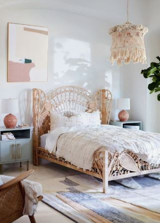 Rattan Bedrooms I am Obsessing Over