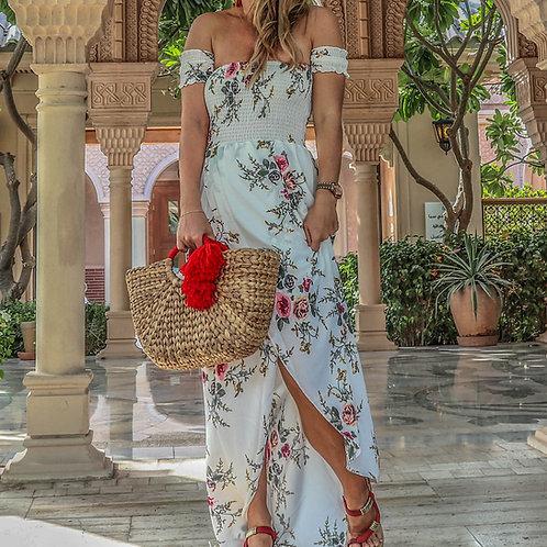 The Palm: White Dress