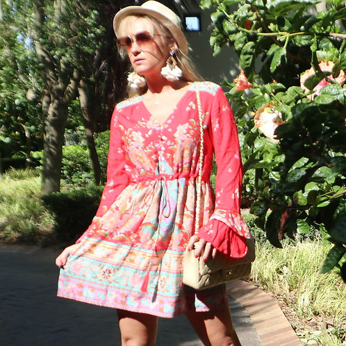 Del a Graff: Boho Festival Dress