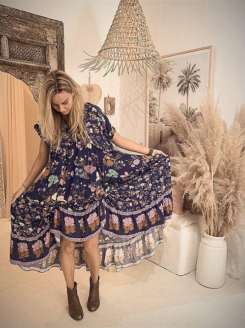 The Old Town Dress - Navy