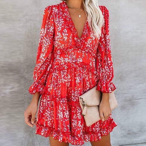 The Nammos Dress - Red