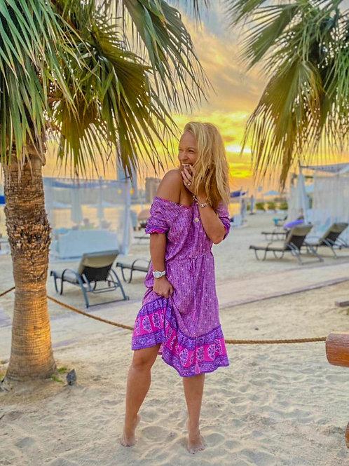 The Spirit Dress - Purple