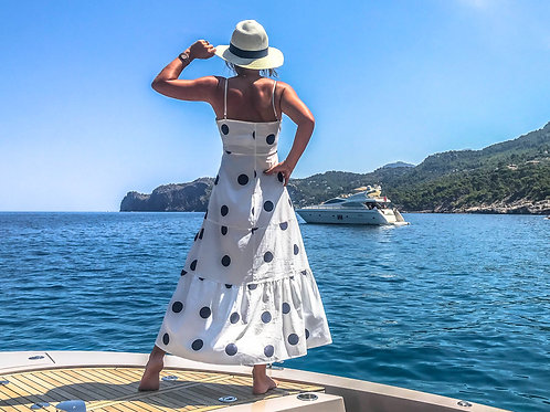 The Yacht: Polka Dot Dress