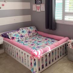 Montessori bed come playpen