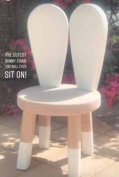 Bunny chair/stool