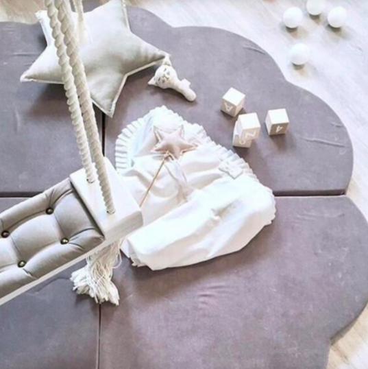 Petal Soft Foam Mat - 4 Pieces