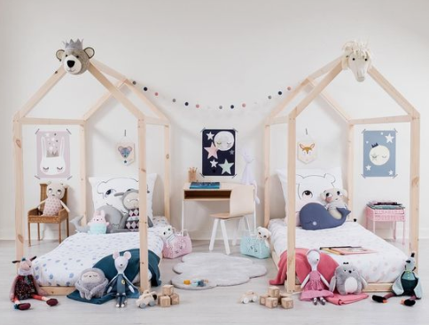 The Best Stylish Twin Rooms for Toddlers