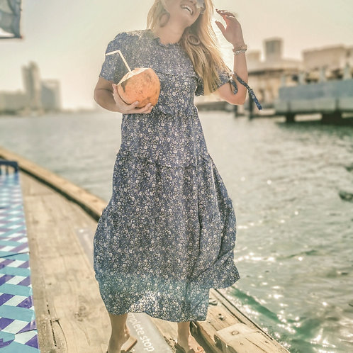 The Lake High Neck Dress